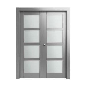 9105gris-doble-vidriera