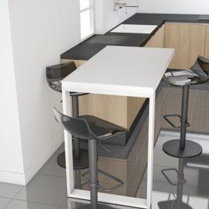 барный стул с регулируемой высотой Chef