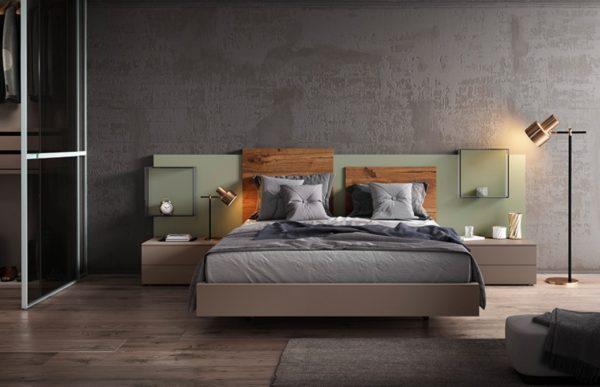 Кровать с тумбами COMP 034