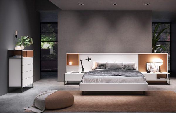 Кровать с тумбами COMP 035