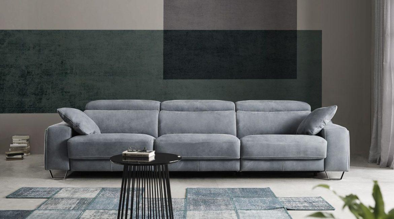Раздвижной электрический диван Cinthia. Мягкая мебель для гостиной Алматы