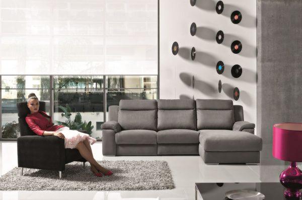Раздвижной электрический диван для релаксации Viana. Мягкая мебель для гостиной Алматы