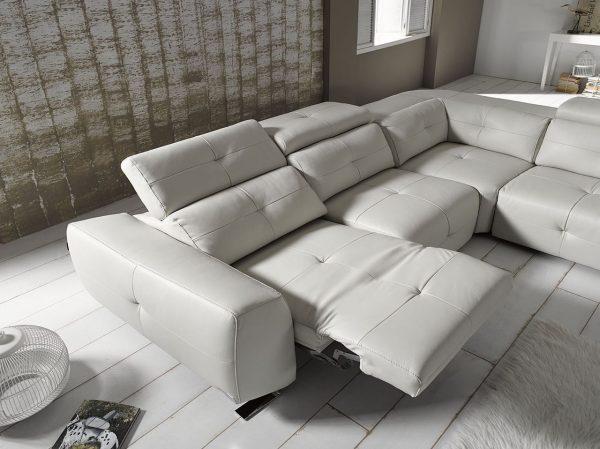 Раздвижной электрический диван Zaira. Мягкая мебель для гостиной Алматы